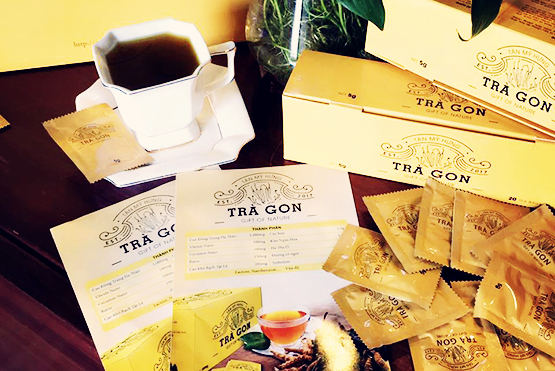 Trà Đông trùng Hạ thảo – Trà GON (Gift of Nature) chính thức ra mắt tại thị trường Việt Nam